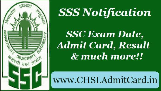 ssc chsl exam date