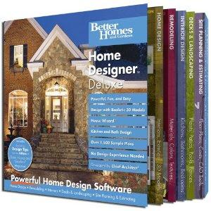 Better Homes and Gardens Home Designer Deluxe