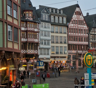 Romerberg Frankfurt Alemanha