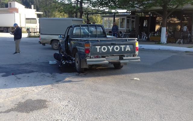 Ηγουμενίτσα: Τροχαίο ατύχημα με τραυματισμό μοτοσικλετιστή στη Νέα Σελεύκεια