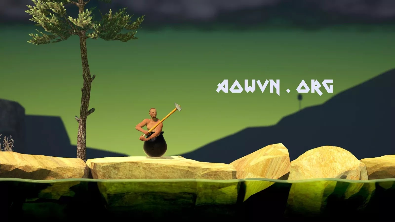 AowVN.org min%2B%25281%2529 - Getting Over It with Bennett Foddy | PC & IOS - Game Lầy Lội Nhất Năm