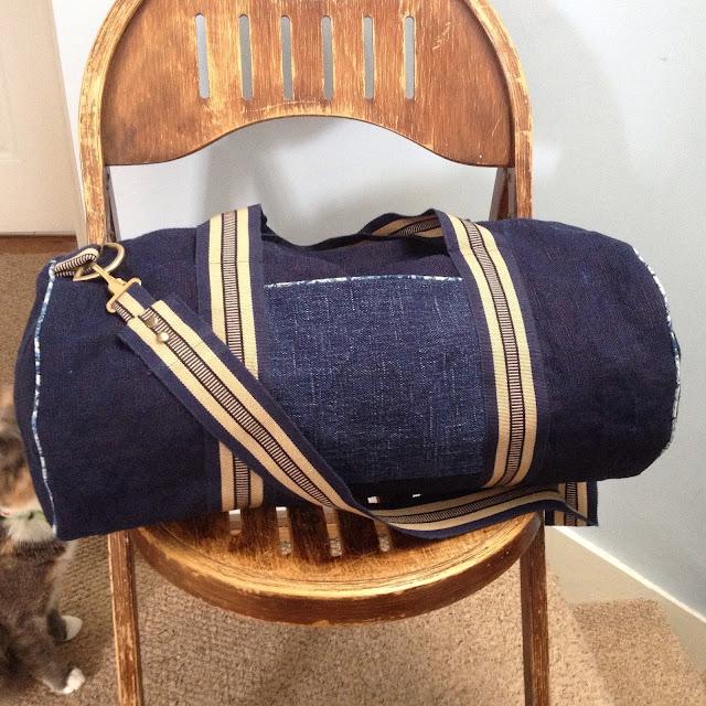 How to make a Barrel Bag