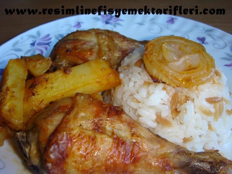 fırında patatesli tavuk baget tarifi-tavuk baget