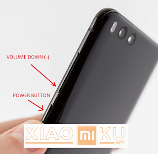 cara pengambilan screenshot dengan tombol xiaomi