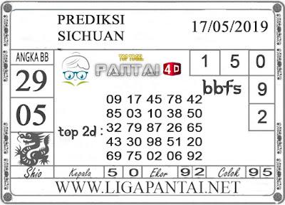 """Prediksi Togel """"SICHUAN"""" PANTAI4D 17 MEI 2019"""