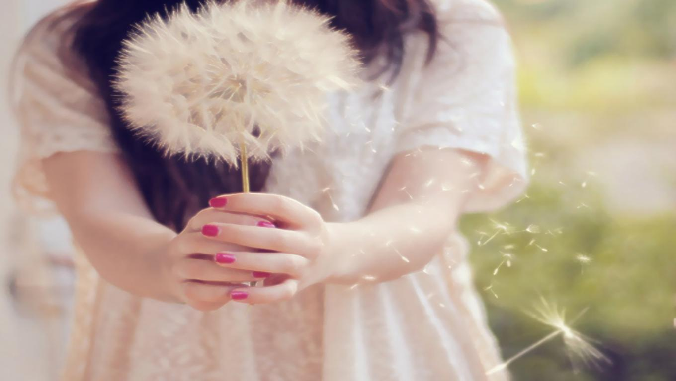 New Art Funny Wallpapers Jokes: Girl With Dandelion Instagram Photos HD Wallpapers Gallery ...