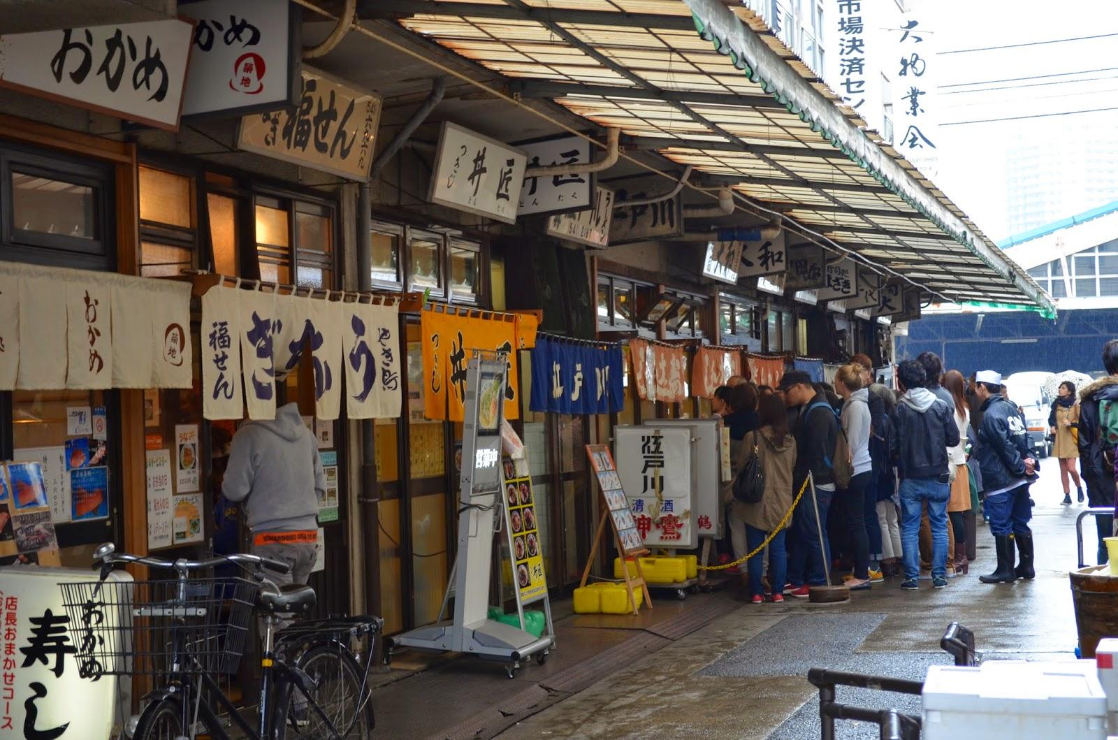 Tokyo japan day 5 tsukiji fish market tokyo for Japan fish market