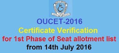OUCET 2016 Certificate Verification