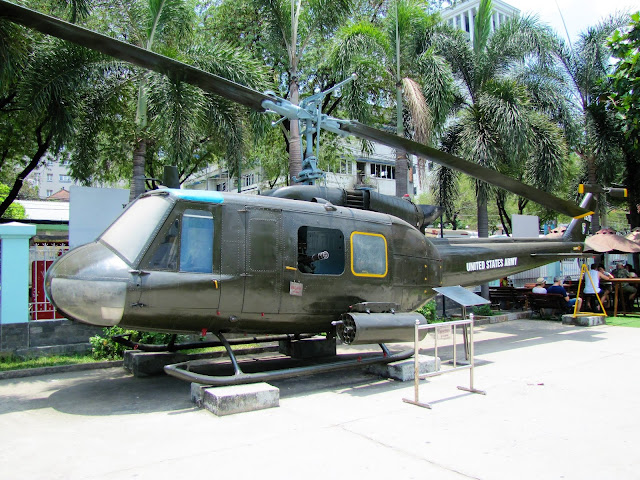 huey helicopter war remnants museum saigon ho chi minh vietnam