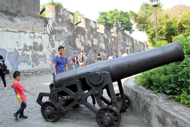 澳門景點 大炮台
