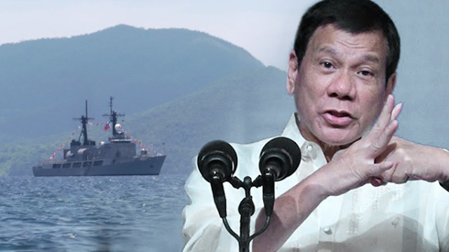 Duterte: Stop joint patrols in West Phil Sea