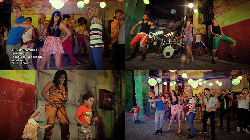 Yuly & Havana C - ¨Bailando, lo malo se va bailando¨ - Videoclip - Dirección: Joel Guilian. Portal del Vídeo Clip Cubano