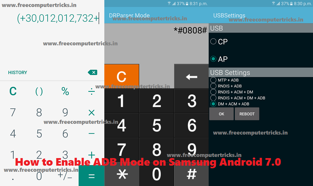 How to Enable USB Debugging : Locked Samsung Android 7 0