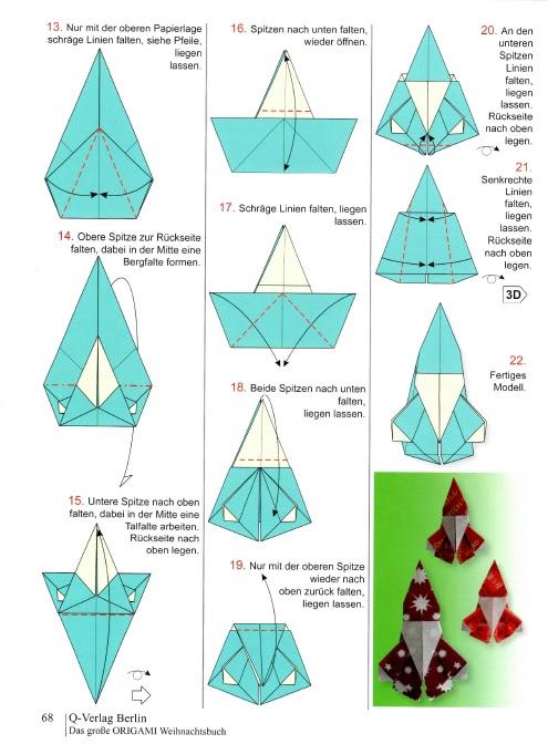 origami nikolaus anleitung my blog. Black Bedroom Furniture Sets. Home Design Ideas