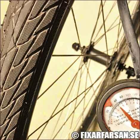 Lufttryck Pendlarcykel Hybrid Elcykel