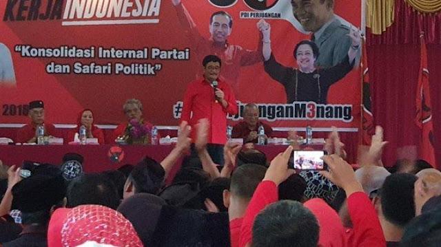 Djarot ke Kader PDIP: 10 Tahun SBY Membangun, Ada yang Dinikmati Gak?