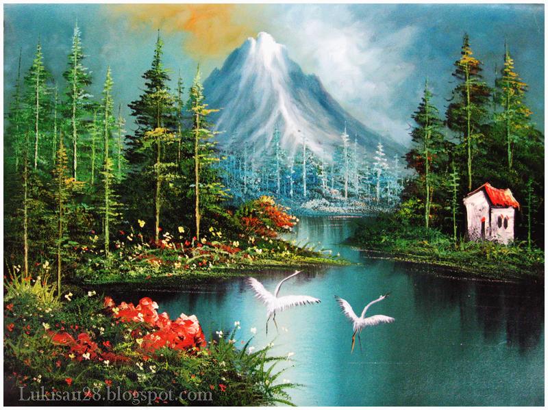 Pin Lukisanpemandanganalam on Pinterest