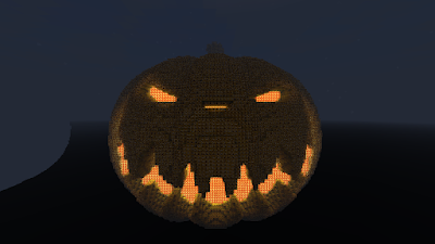 cool things to build in minecraft pumpkin idea