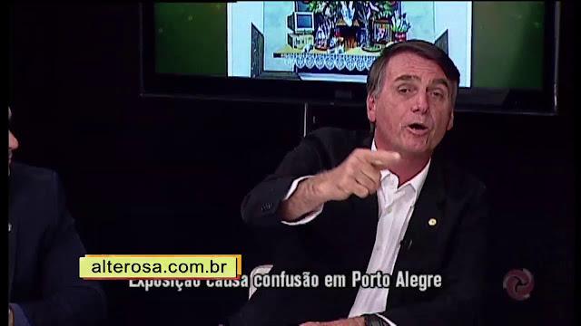 Bolsonaro na TV Verdade debate com esquerdistas da comunidade LGBT