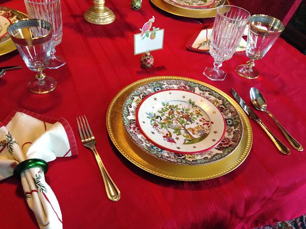 Carolinajewel' Table Twelve Days Of Christmas Tablescape