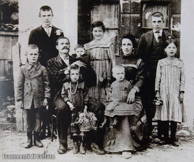 Famiglia Piol anni 1910