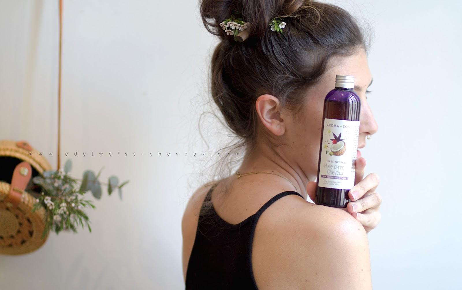 produit aroma zone avis soins cheveux longs