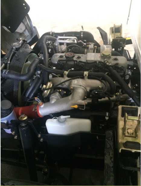 Động cơ isuzu trên iz49