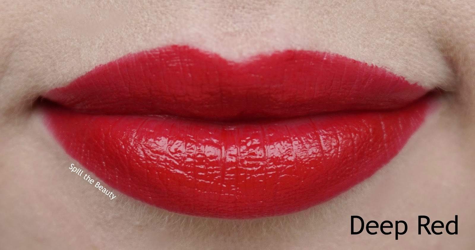 clarins fall 2017 review swatches joli rouge lipstick deep red