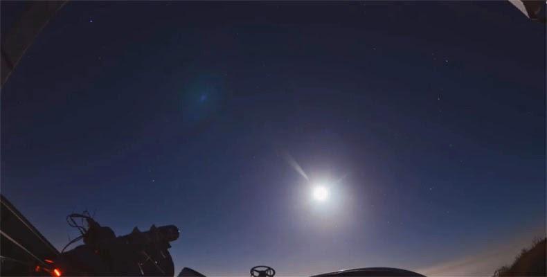 Foto Eclipse Lunar Total Lua de Sangue 15 de abril de 2014