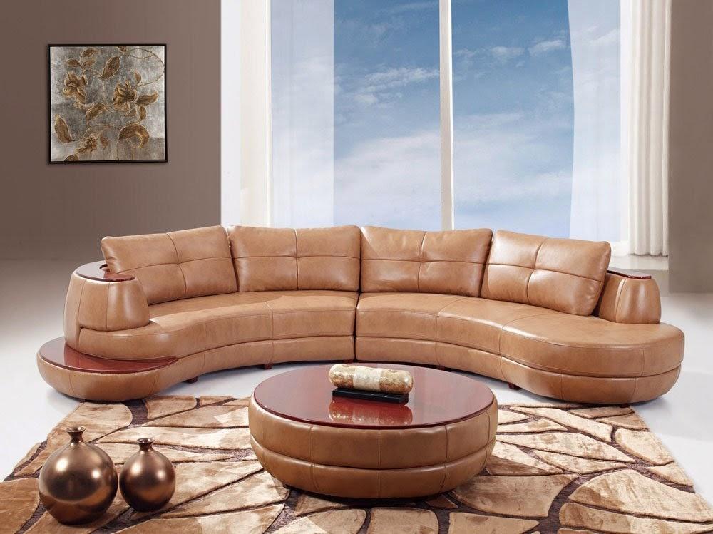 Curved Sofa Curved Leather Sofa