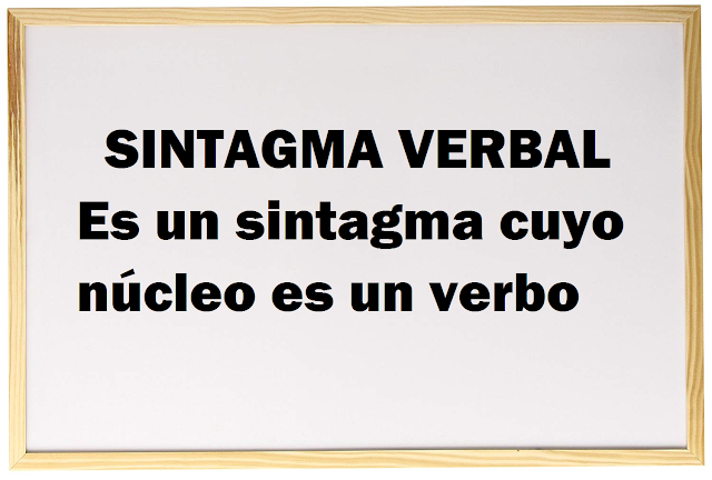 sintagma verbal