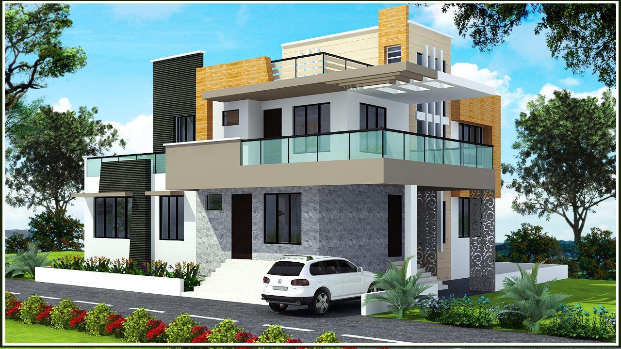 Ghar planner leading house plan and house design for Bungalow plans and elevations