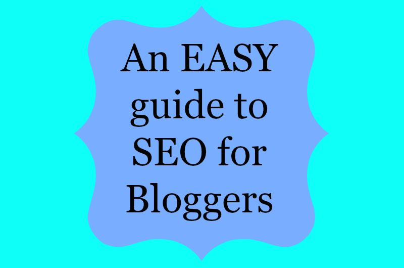 An easy introduction to SEO which is specifically aimed at bloggers with no technical know how