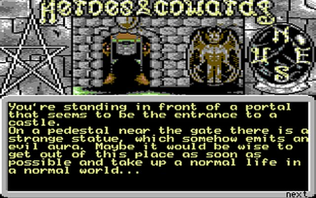 Indie Retro News: Heroes & Cowards - A graphical C64