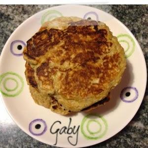 Pancakes integrali con fiocchi d'avena