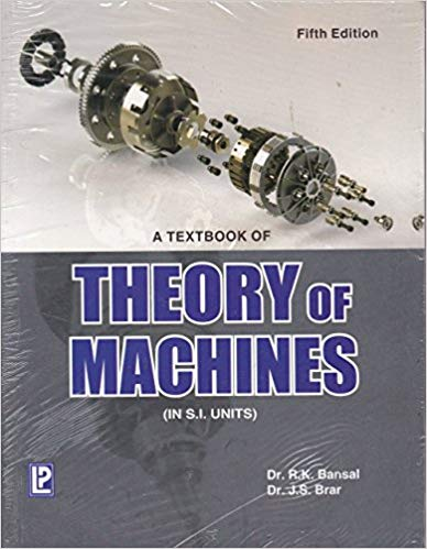 Download A Textbook Of Theory Of Machines By R K Bansal Ebook Pdf Cg Aspirants