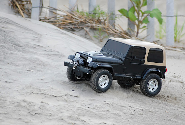 Tamiya Jeep Wrangler kit build