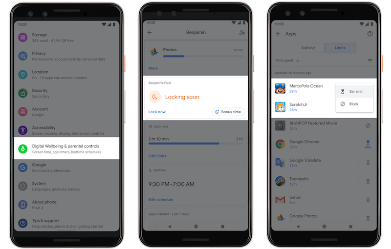Google Focus mode