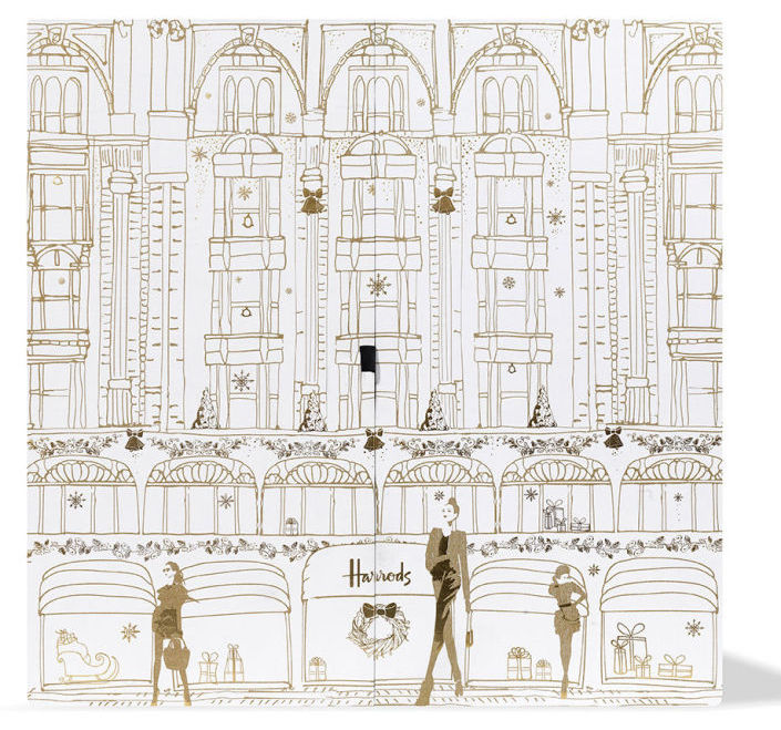 Full contents and spoilers of the Harrods Beauty Advent Calendar for Holiday 2017.