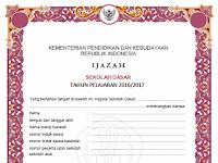 Juknis Pengisian Blangko Ijazah Pendidikan Dasar dan Menengah