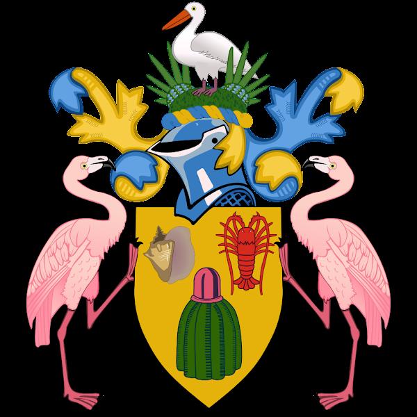 Logo Gambar Lambang Simbol Negara Turks dan Caicos PNG JPG ukuran 600 px
