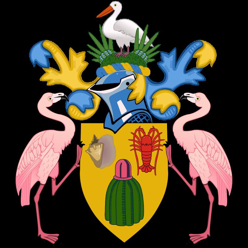 Logo Gambar Lambang Simbol Negara Turks dan Caicos PNG JPG ukuran 800 px