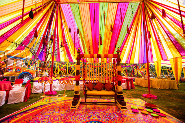 holi colorful decor founder good times concept events