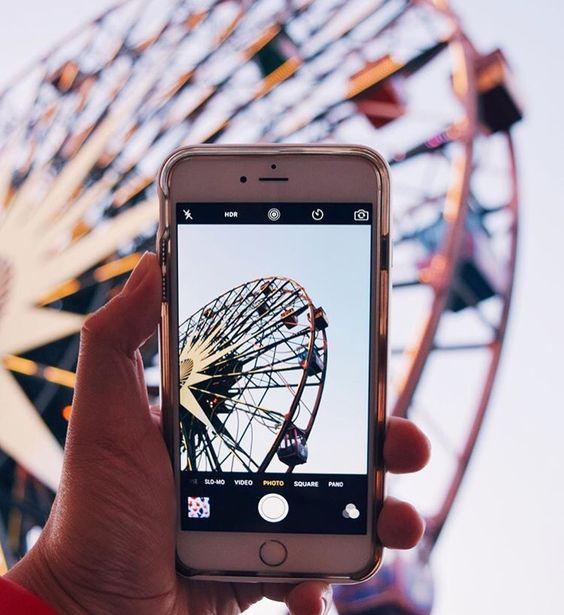ideas de fotos para subir y arrasar en instagram este verano noria atracciones fair ferris wheel