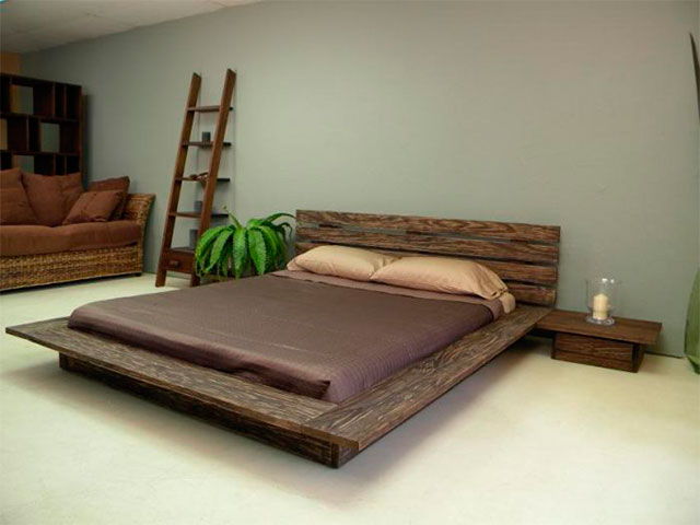 cama estilo japonês