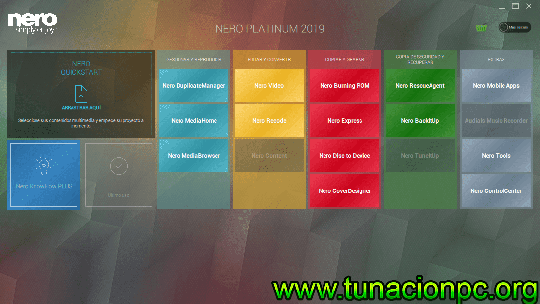 Descargar Nero Platinum 2019 Final Full Español con Licencia