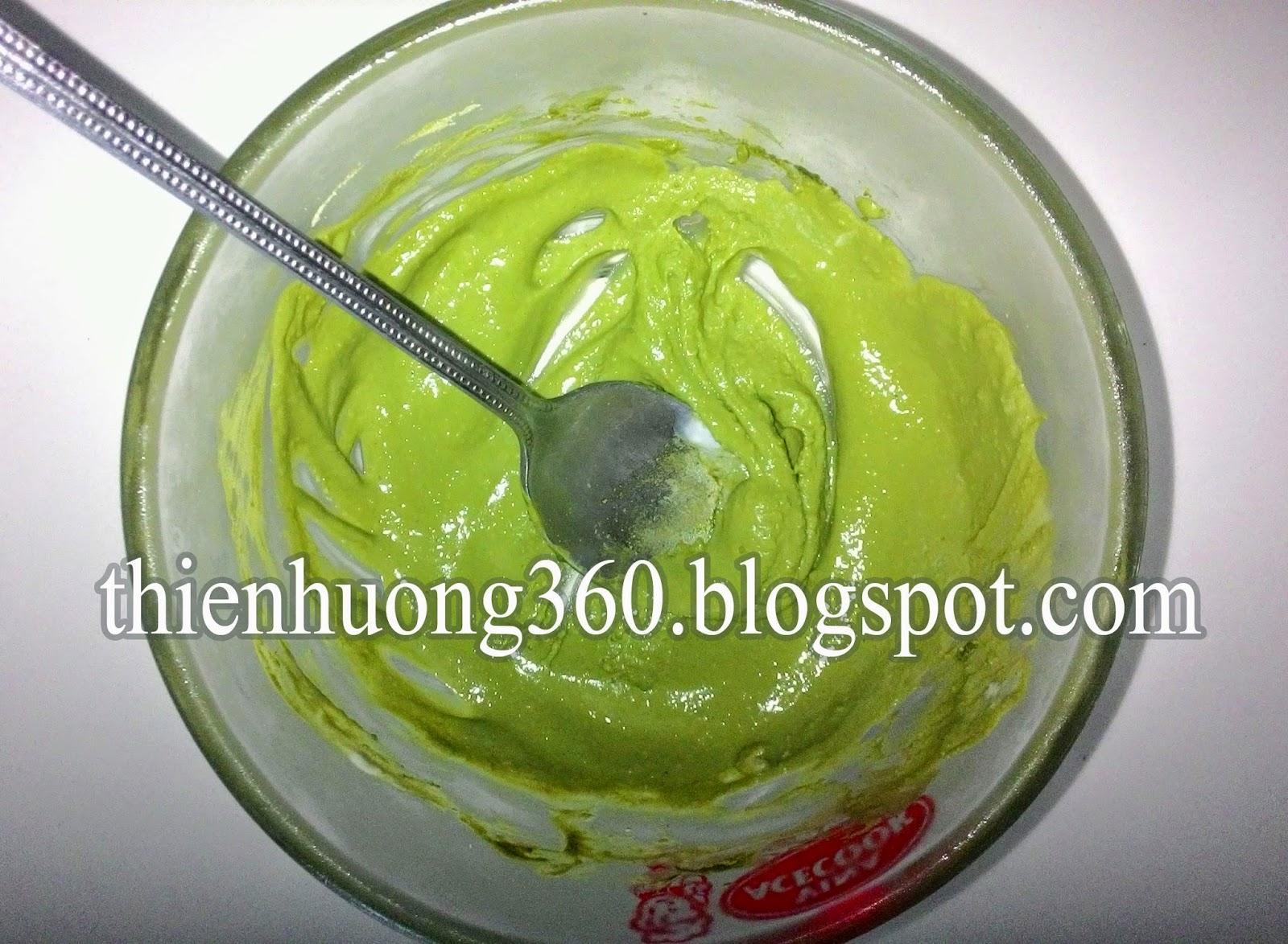 Cách làm mặt nạ trị mụn từ bột trà xanh, bột yến mạch, váng sữa và mật ong