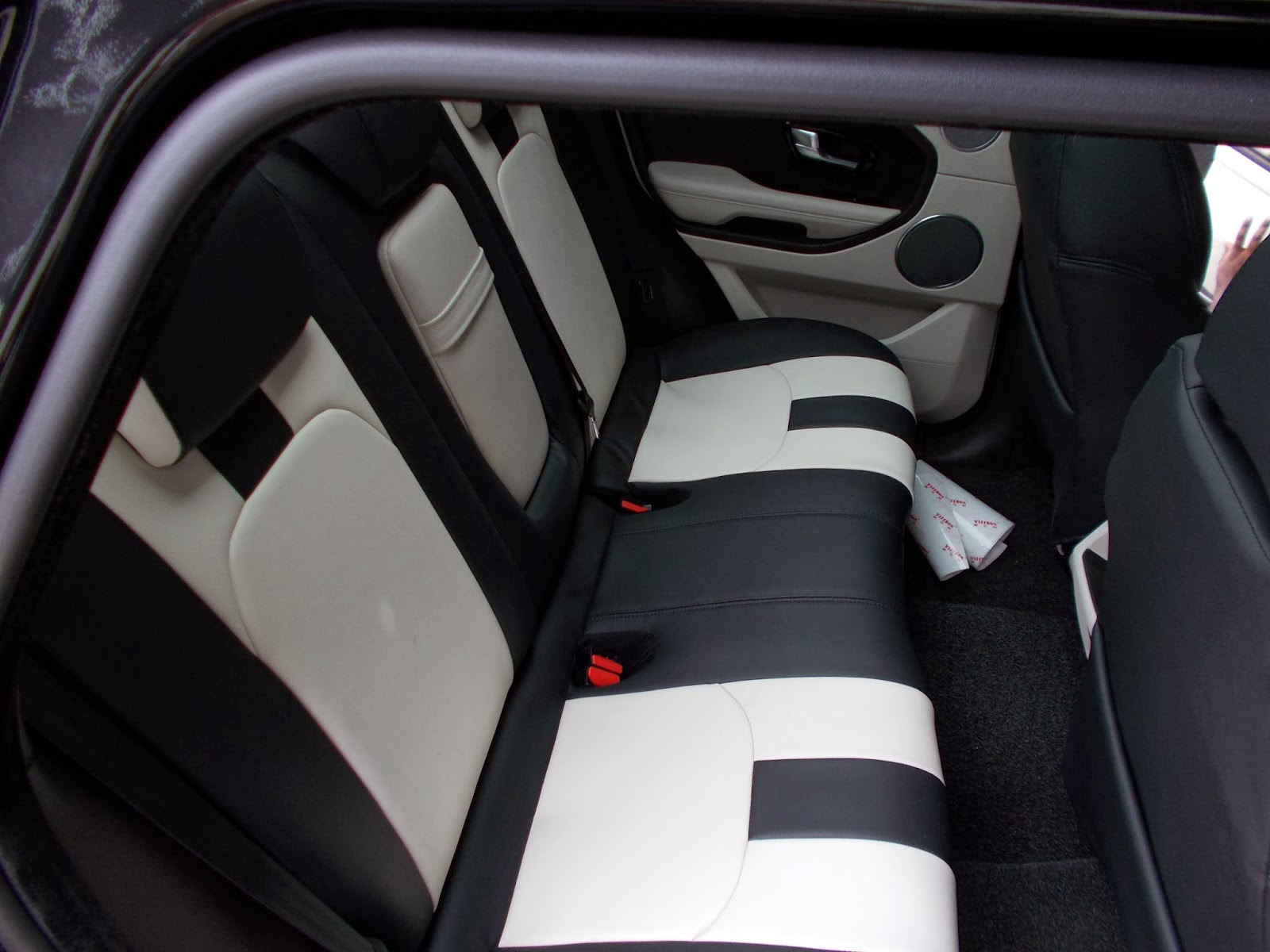 Range Rover Evoque 2013 Leather Seat Covers With Full