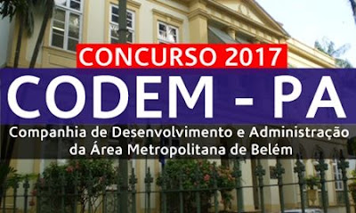 Apostila Concurso CODEM PA 2017