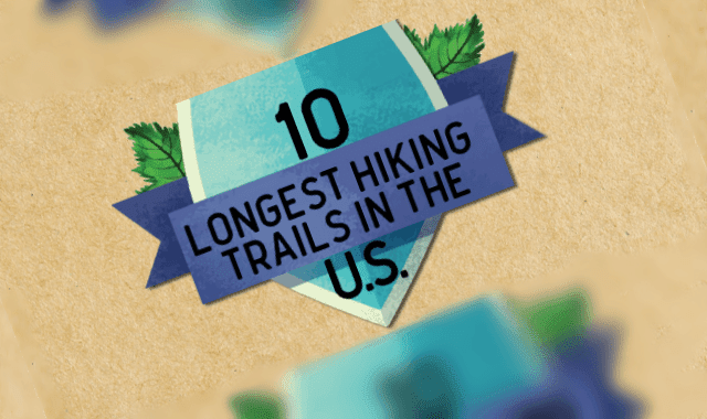 10 Longest Hiking Trails in the U.S